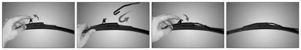 Avant 2 de raclettes Bosch 3397007584 Aerotwin Retrofit Toyota Lexus